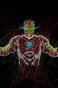 Iron Man Drawing Art