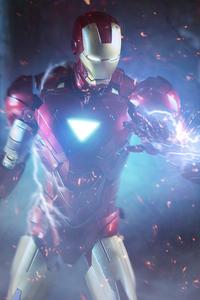 1080x2280 Iron Man Electrolyte 8k