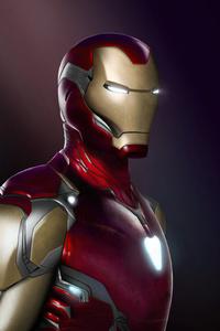 1440x2960 Iron Man End Game 4k