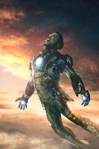 Iron Man Falling