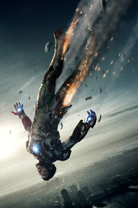 240x320 Iron Man Falling Out