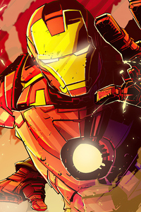 1280x2120 Iron Man Fan Made Art 4k