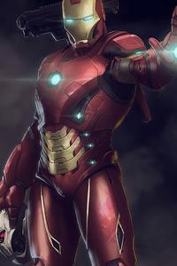 Iron Man Fire Blaster 4k