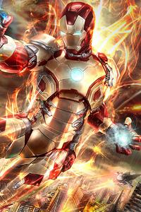 Iron Man Fire Blaster