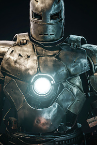 320x480 Iron Man First Suit 4k