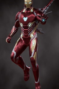 1440x2560 Iron Man Fly 2020