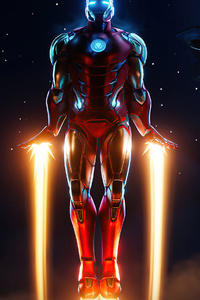 1440x2560 Iron Man Fortnite 4k