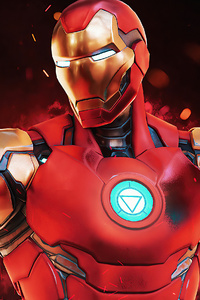 800x1280 Iron Man Fortnite