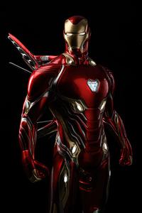 1440x2960 Iron Man Glowing Eyes 4k