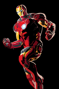 Iron Man Graphic Design 4k