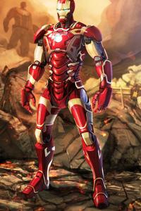 1080x1920 Iron Man Hd Art