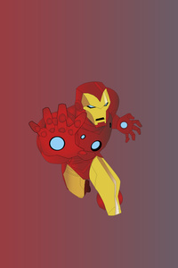 240x320 Iron Man HD Arts