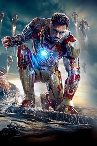 240x320 Iron Man HD