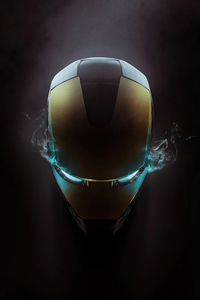 Iron Man Helmet 4k