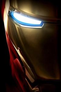 Iron Man Helmet Closeup
