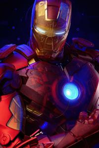 Iron Man Holographic 4k