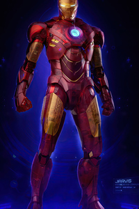 Iron Man Holographic