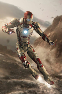 360x640 Iron Man Hovering