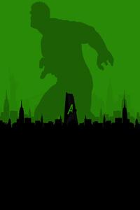 240x320 Iron Man Hulk Thor Artwork