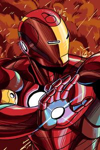 Iron Man Illustration 4k