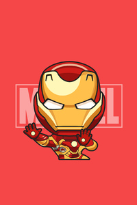 Iron Man Illustration Art 4k