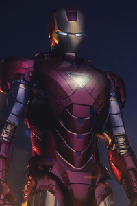 Iron Man In Action 4k