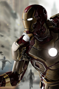 Iron Man In Avengers Age Of Ultron