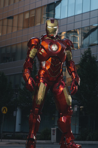 Iron Man In City