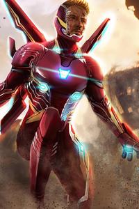 240x400 Iron Man In Infinity War