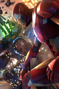 Iron Man In Marvels Avengers