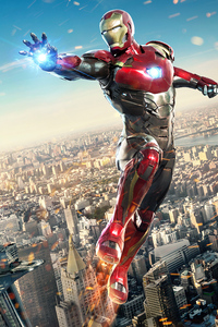 1280x2120 Iron Man In Spiderman Homecoming 4k