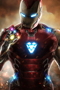 1125x2436 Iron Man Infinity Gauntlet Avengers Endgame