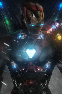 Iron Man Infinity Gauntlet New Art
