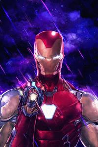Iron Man Infinity Stones Artwork