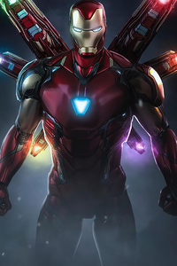 Iron Man Infinity Suit 4k