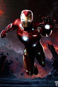 720x1280 Iron Man InfinityWar 4k