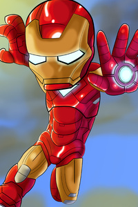 Iron Man Kid Cosmic Art