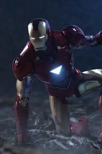360x640 Iron Man Landing Position