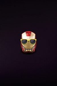 1440x2560 Iron Man Little Mask