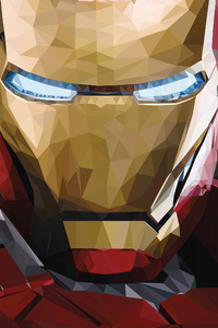 Iron Man Low Poly