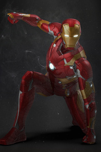 Iron Man Making Artwork