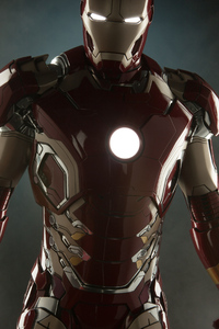240x320 Iron Man Mark 43