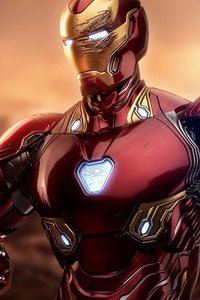 240x400 Iron Man Mark 45 Suit