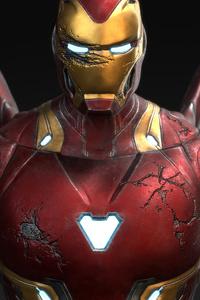 720x1280 Iron Man Mark 50 5k