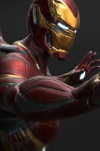 720x1280 Iron Man Mark 50