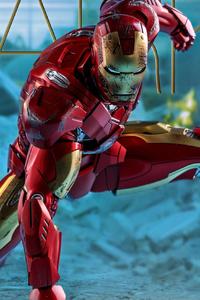 240x320 Iron Man Mark Iv