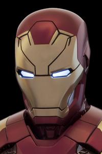 240x320 Iron Man Mark VI 4k