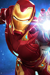1080x2280 Iron Man Marvel Avengers