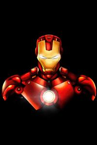 480x800 Iron Man Marvel Fan Art 4k