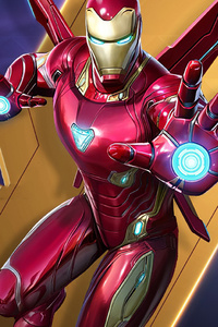 1440x2960 Iron Man Marvel Super War